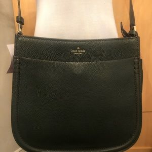 Kate Spade Hensley Spruce Green Leather